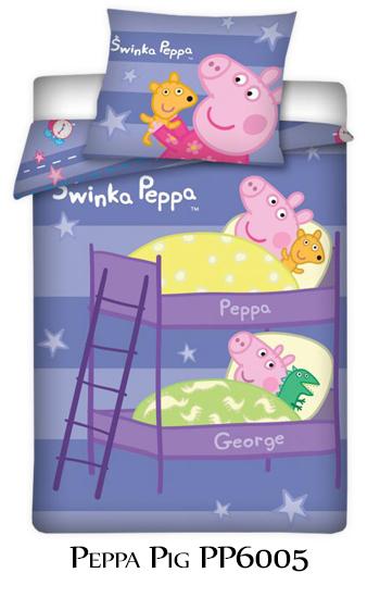 Peppa Pig Housse De Couette George Suzy Sheep 100 Coton