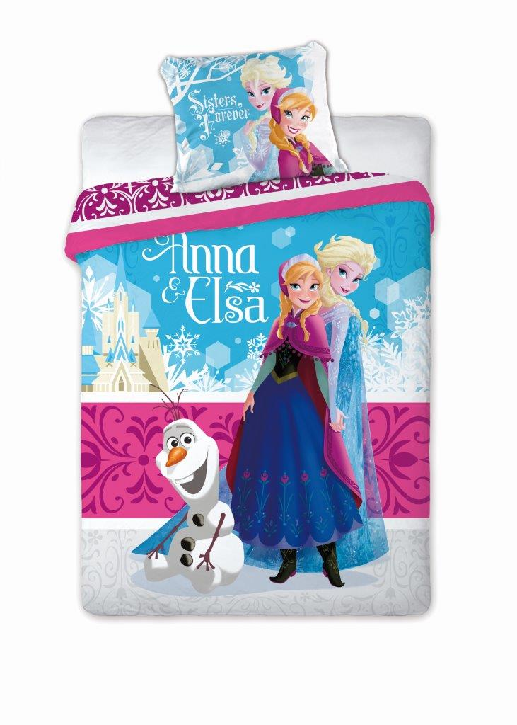kinderbettw sche bettw sche frozen die eisk nigin anna kristoff elsa 135x200 ebay. Black Bedroom Furniture Sets. Home Design Ideas