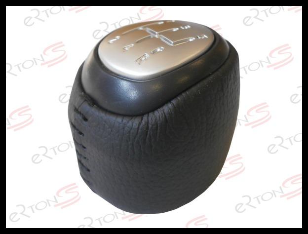 pommeau de levier pour saab 9 3 93 2003 2012 5 vitesse cuir neuf ebay. Black Bedroom Furniture Sets. Home Design Ideas