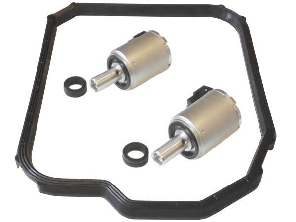 Für RENAULT DP0 2x Magnetventil Automatikgetriebe 3x Ölwannendichtung RepSatz