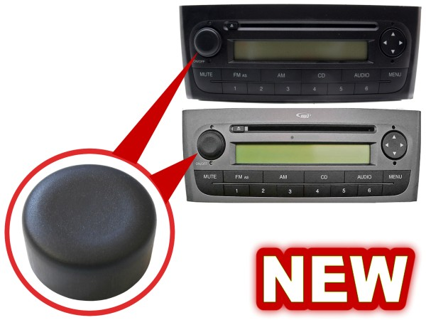 radio blaupunkt cd mp3 volume knob switch fiat grande. Black Bedroom Furniture Sets. Home Design Ideas