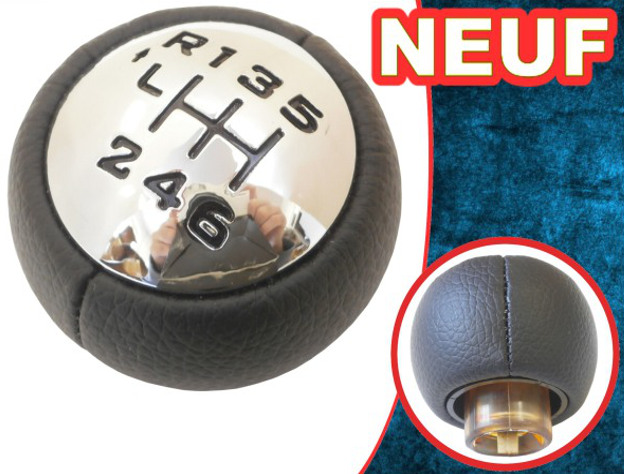 pommeau de levier de vitesse peugeot 307 308 3008 407 5008 807 partner b9 tepee ebay. Black Bedroom Furniture Sets. Home Design Ideas