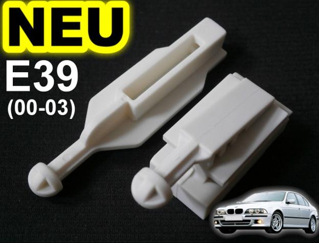 63120027924 2 Set Xenon Halogen Scheinwerfer Reflektor BMW 5er E39 Bj 95-00