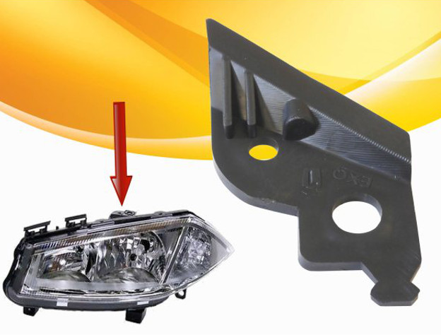 02-08 HEADLAMP HEADLIGHT BRACKET TAB FRONT RIGHT LEFT RENAULT MEGANE II 2 MK2