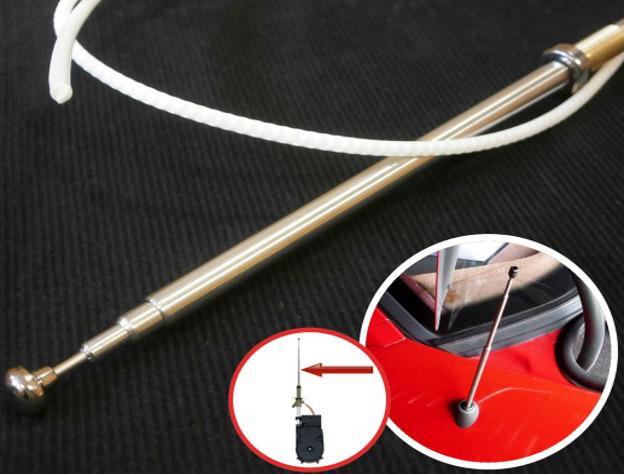 antenne lectrique aile t lescope autoradio pour mercedes w201 w202 w210 r129 ebay. Black Bedroom Furniture Sets. Home Design Ideas