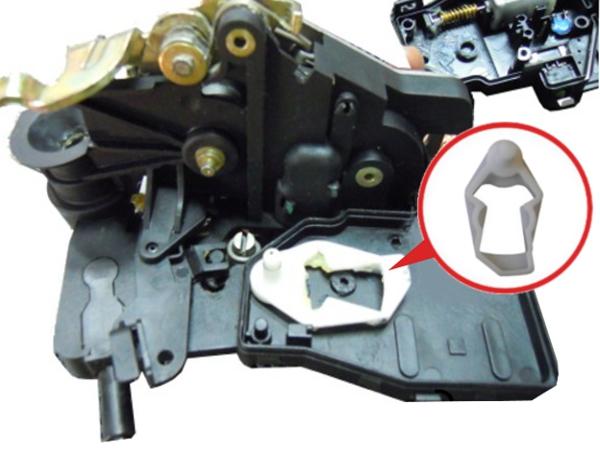 W163 Serrure De Porte Réparation Clips Paire Mercedes ML Class