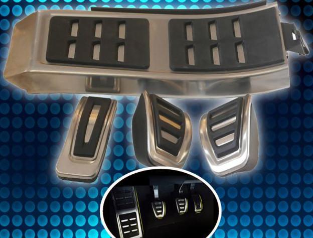 Pedale  Set Pedalset  Alu Automatik 3 tlg NEU für  AUDI Q7