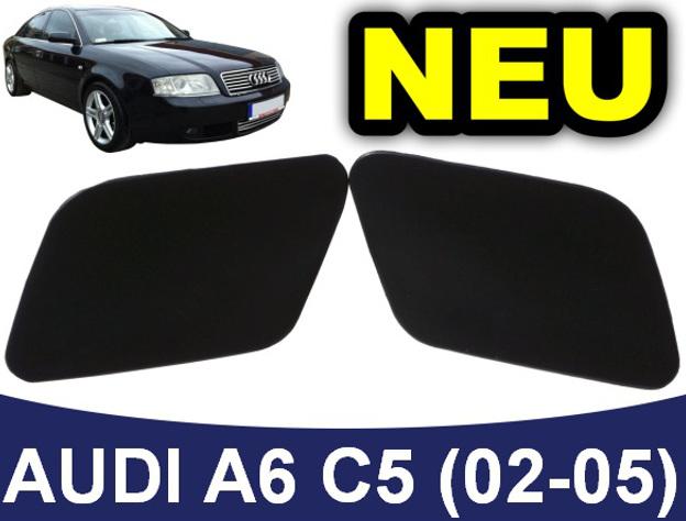 2x 4B0 955 275 4B0 955 276 Scheinwerferreinigung Abdeckung Kappe für Audi A6 C5